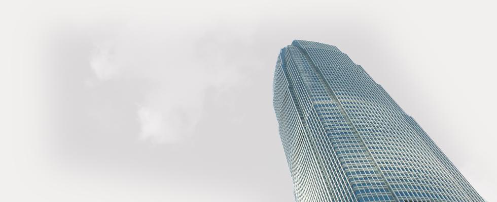 Skyscraper in Clouds